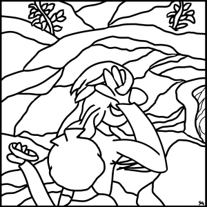 coloring fun:ask big:wind cave national park, south dakota:philippians 4:6